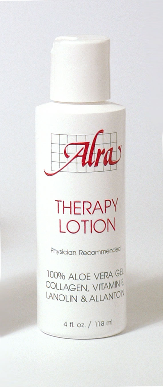 ALRA therapy lotion, soothing relief for dry and sensitive skin after radiation and chemotherapy